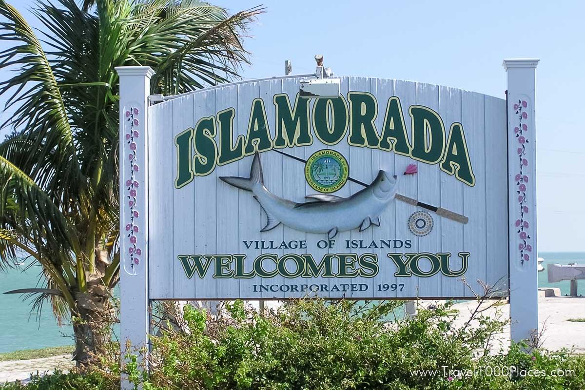 Islamorada Welcome Sign, Florida Keys