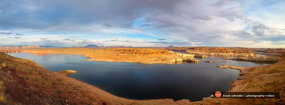 Lake Powell, Glen Canyon National Recreation Area near Page, Arizona [photo: frankschrader.us]
