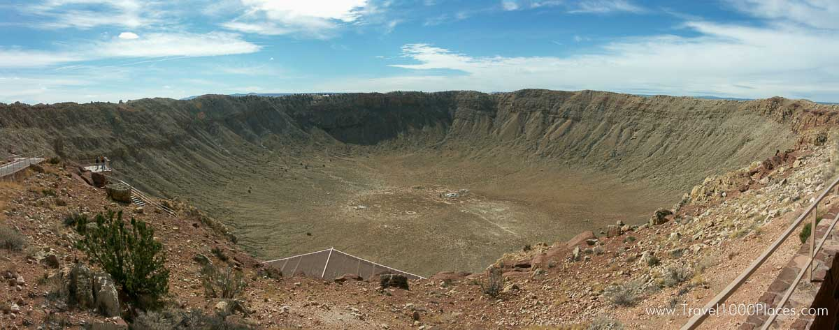 Meteor Crater, Arizona, USA