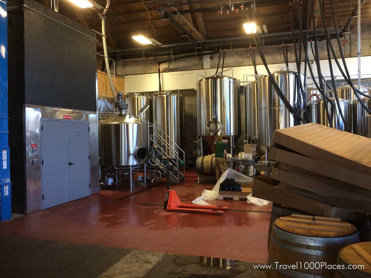 Brewery in Portland, Oregon