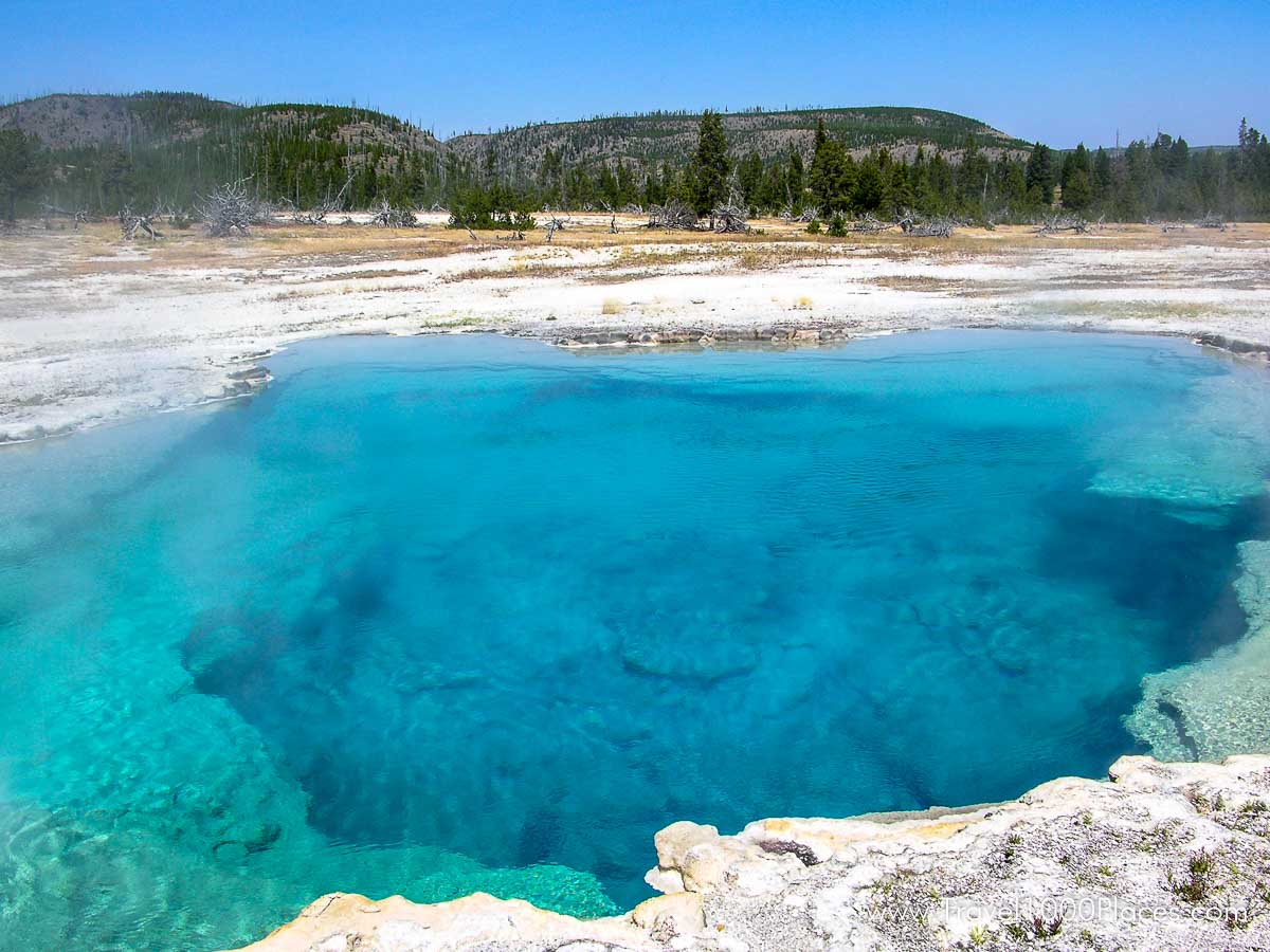Sapphire Pool -- Yellowstone National Park, Wyoming, USA