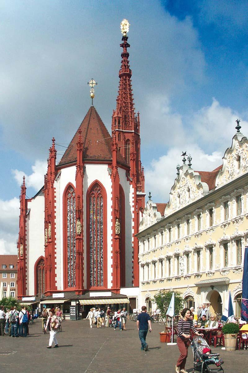 Marktplatz Würzburg [photo: Congress Tourismus-Wirtschaft Würzburg]
