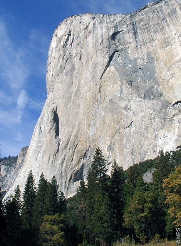 North American wall of El Capitan looms over the Valley Hike, Yosemite National Park, California, USA [photo: NPS]