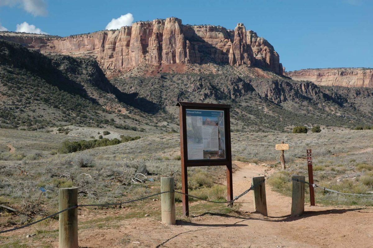 Colorado National Monument -- Corkscrew Trail Area [photo: NPS]