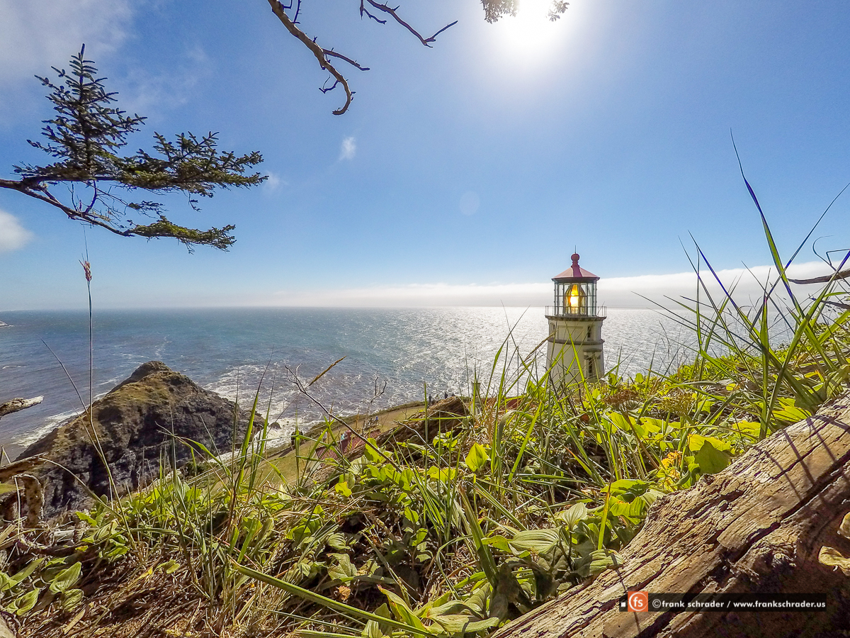Heceta Head Lighthouse, Oregon, USA [photo: frankschrader.us]