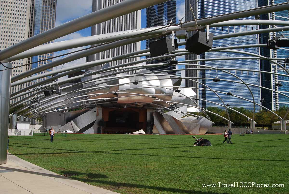 Chicago Millennium Park -- Pritzker Pavilion