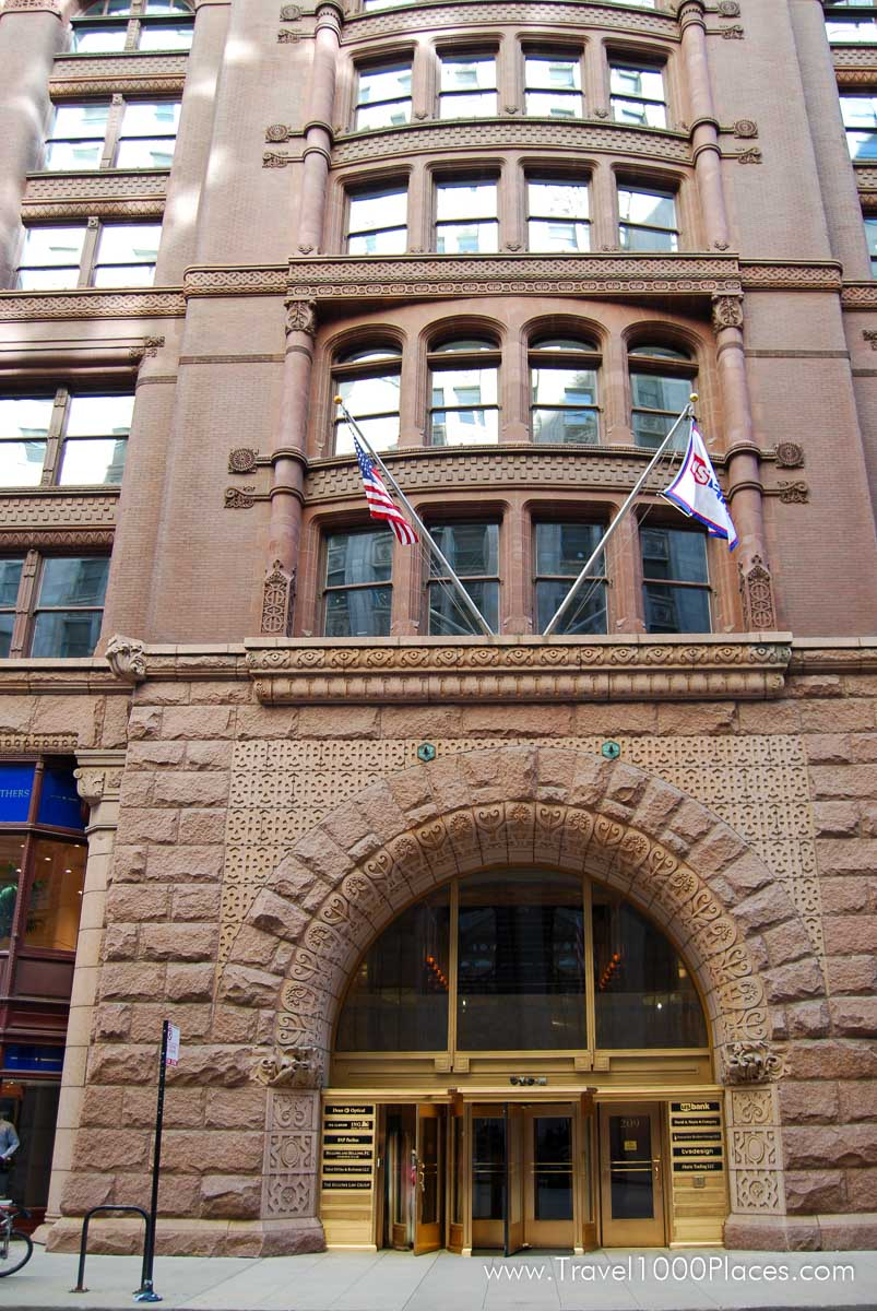 Rookery Building in Chicago