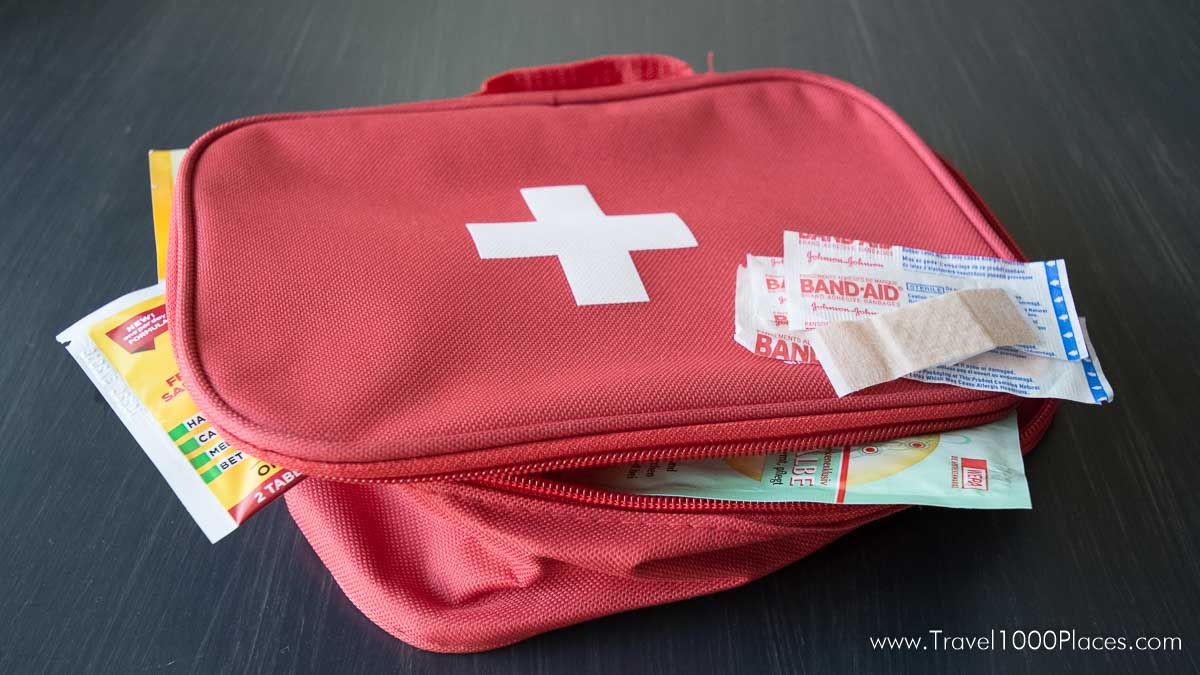 Medical Emergency Kit - Travel Insurance for foreign countries -- plan ahead and inform yourself!